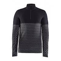 Термобелье (рубашка на молнии) мужское CRAFT  Merino 240 (1907893-999000)
