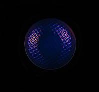Кнопка с подсветкой цвет Фиолетовый/ УФ для фонарей Convoy  S2, S2+, C8, C8+, M1, M2 и др. Плата 16 мм. omten, фото 1