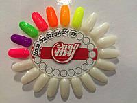 Гель лак My nail 9 мл №302 салатовый с мелким глитером