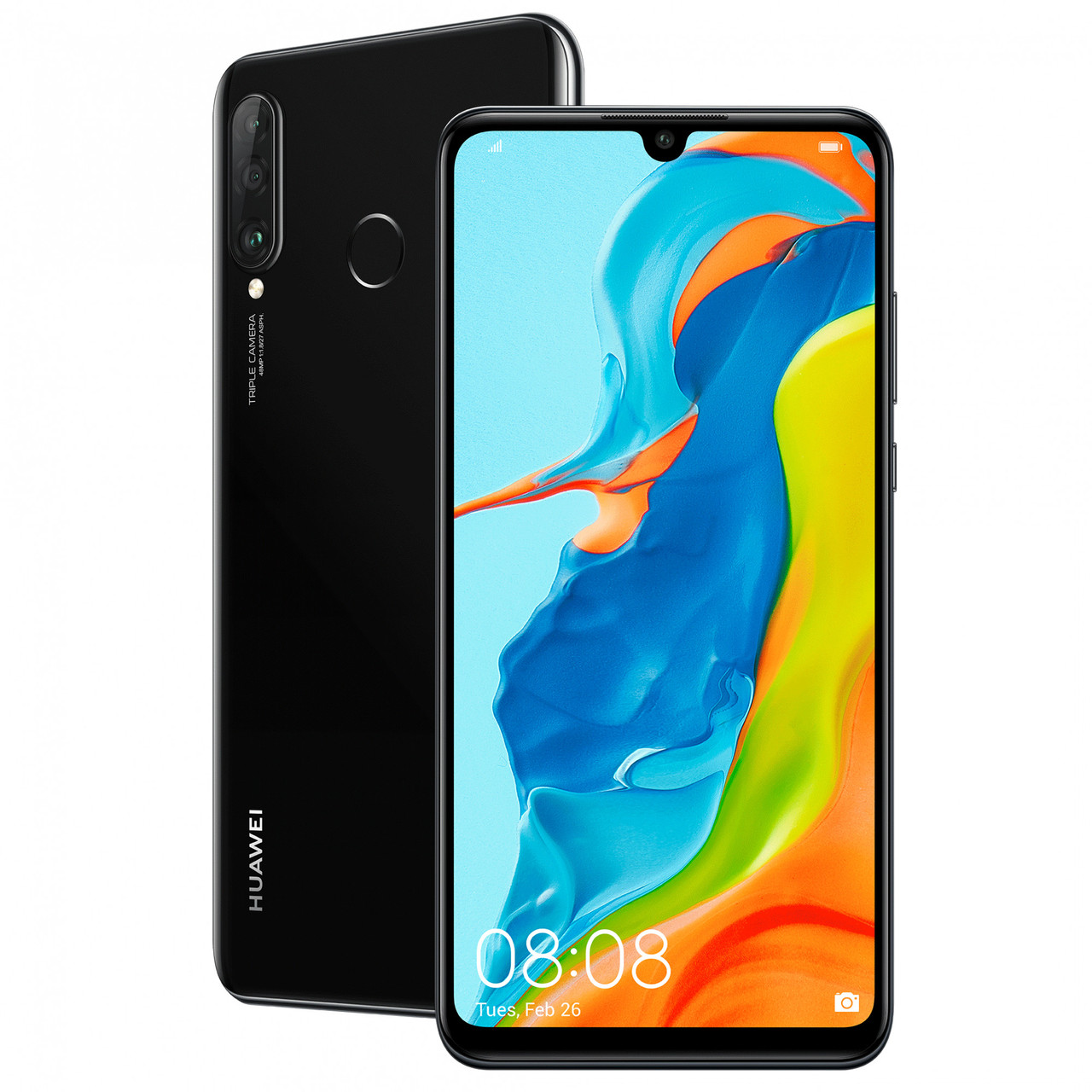 "Смартфон HUAWEI P30 Lite 4/128GB 6,15"" Midnight Black (51093PUS)"