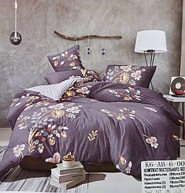 Комплект постельного белья Сатин Евро с 4 наволочками