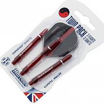 Набор оперения с хвостовиком Twin pack Harrows Англия 3шт., фото 3