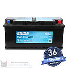 Аккумулятор автомобильный EXIDE AGM 6CT 105Ah, пусковой ток 950А [–|+] (EK1050), фото 2