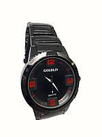 Часы кварцевые мужские на браслете Goldis 4467