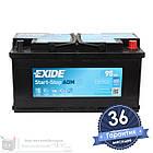 Аккумулятор автомобильный EXIDE AGM 6CT 95Ah, пусковой ток 850А [–|+] (EK950), фото 2