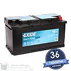 Аккумулятор автомобильный EXIDE AGM 6CT 95Ah, пусковой ток 850А [–|+] (EK950), фото 3