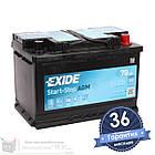 Аккумулятор автомобильный EXIDE AGM 6CT 70Ah, пусковой ток 760А [– +] (EK700), фото 3