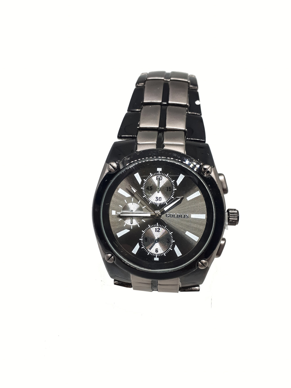 Часы кварцевые мужские на браслете Goldis 37-88
