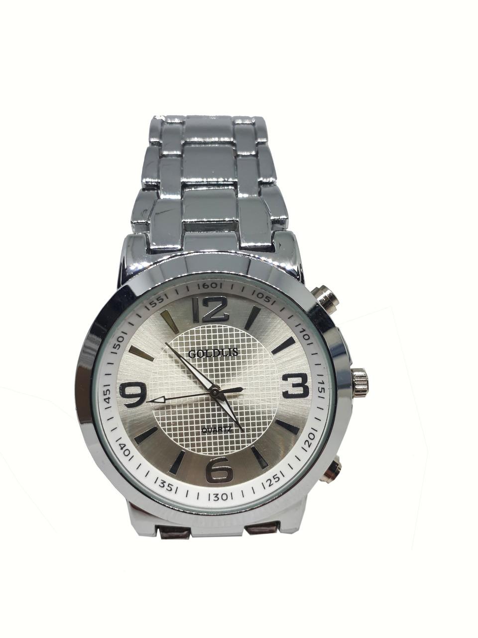 Часы мужские кварцевые Goldis 44-87SS