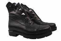 Ботинки Guero натуральная кожа, цвет черный