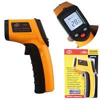 Лазерный ИК цифровой термометр, пирометр Benetech GM320