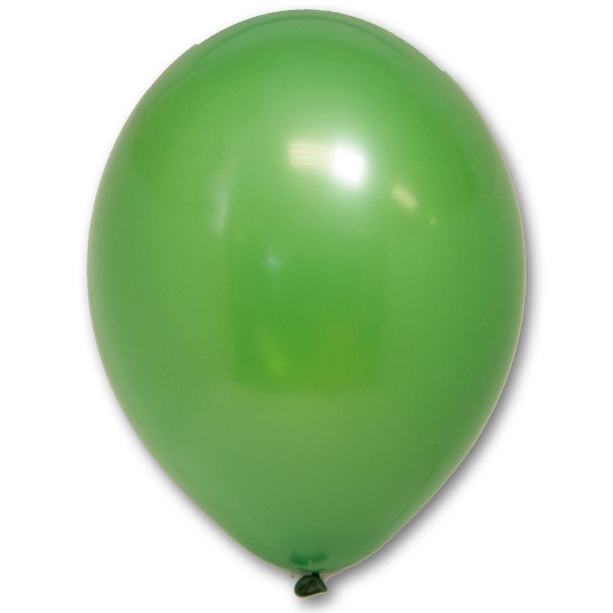 Латексные шары круглые без рисунка  В 105/011 пастель зеленый