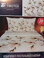 Комплект постельного белья Тиротекс РАНФОРС 3D печать Весна двуспальный 175х215