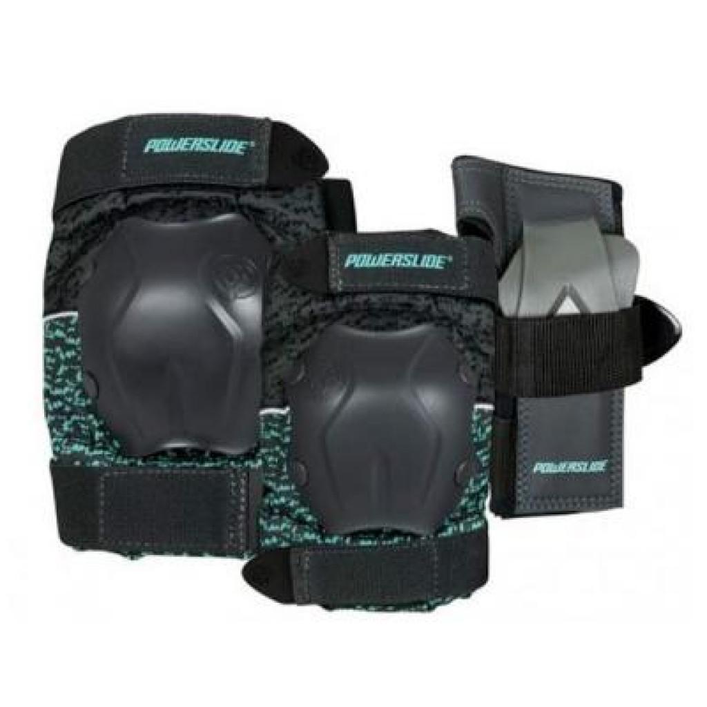 Комплект защиты Powerslide 903243 Standard Tri-Pack Women XL 2018 (4040333499658)