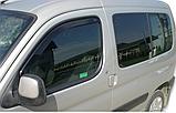 Дефлектори вікон вставні Citroen Berlingo/Peugeot Partner 1996-2008, фото 2