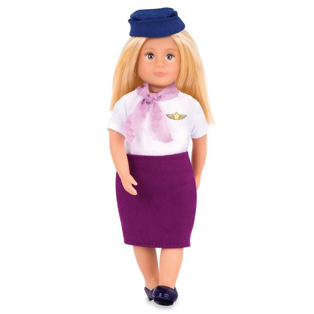 Кукла LORI Стюардесса Ауре 15 см (LO31112Z)