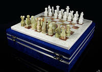 "Шахматы из натурального, лечебного камня ""Оникс"""