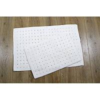 Набор ковриков Irya - Esta krem кремовый 40*60+55*85