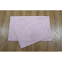 Набор ковриков Irya - Esta pembe розовый 40*60+55*85