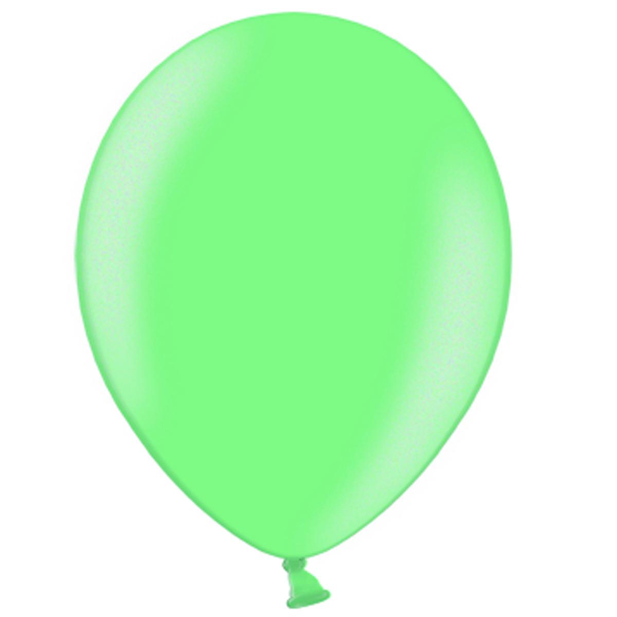Латексні кулі круглі без малюнка В 85/446 пастель світло-зелений