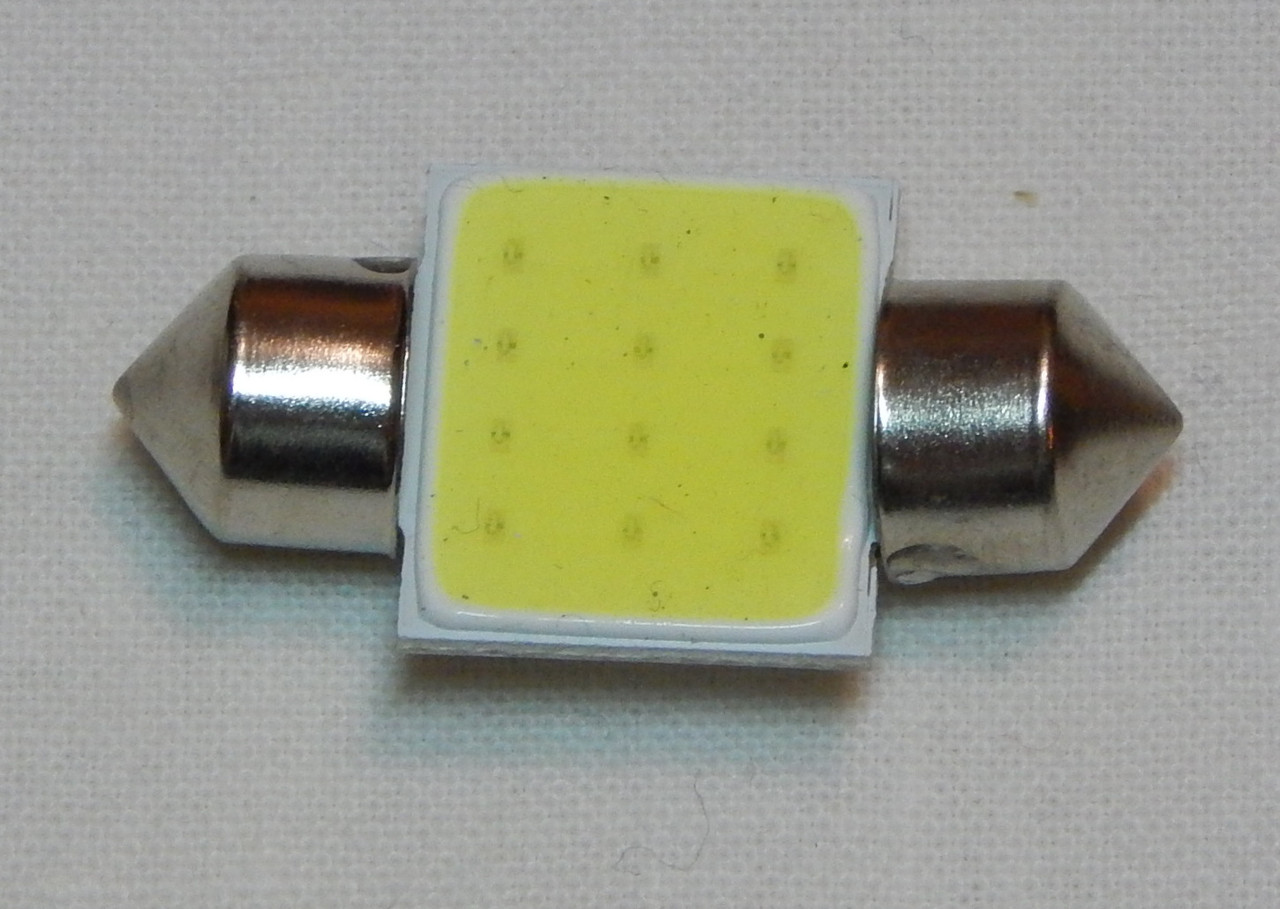 Лампа автомобільна світлодіодна ZIRY C5W 31mm біла