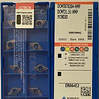 DCMT 070204-HMP PC9030 KORLOY ORIGINAL Пластина твердосплавная ромбическая