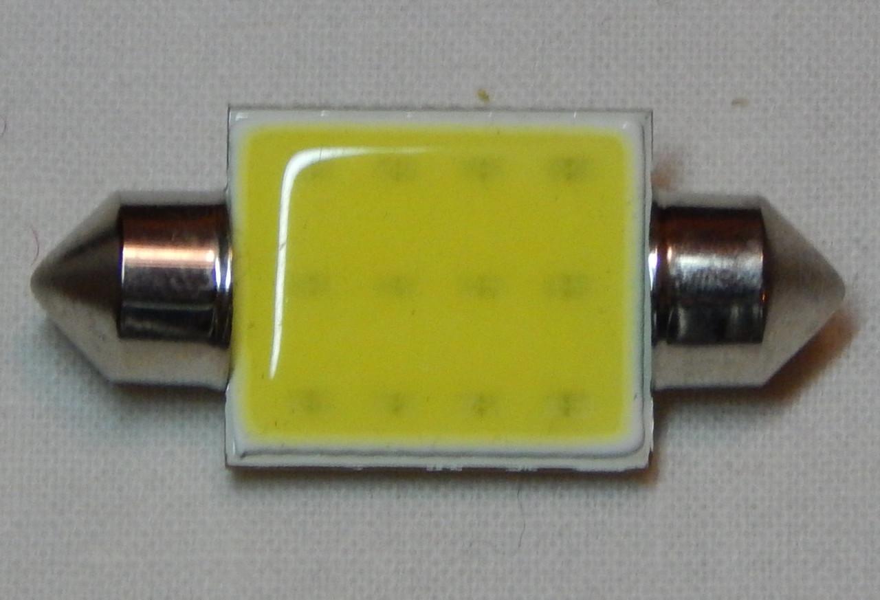 Лампа автомобільна світлодіодна ZIRY C5W 36mm біла