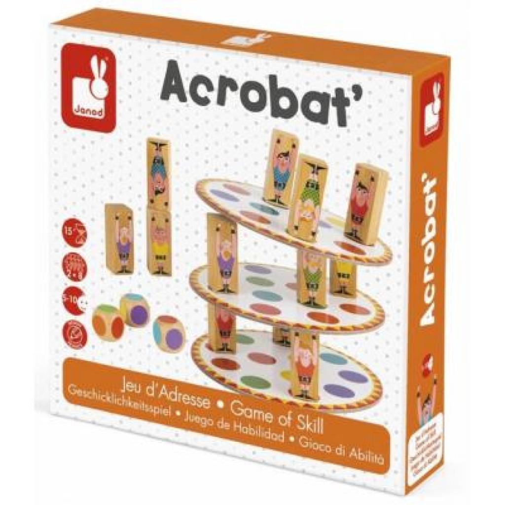Настольная игра Janod Акробат (J02757)