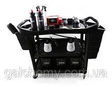 Багатофункціональний візок полірувальника 139,5х52,4х94 cm SGGD025, SGCB