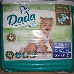 Підгузники DADA PREMIUM 5 junior (15-25 кг) 39 шт.