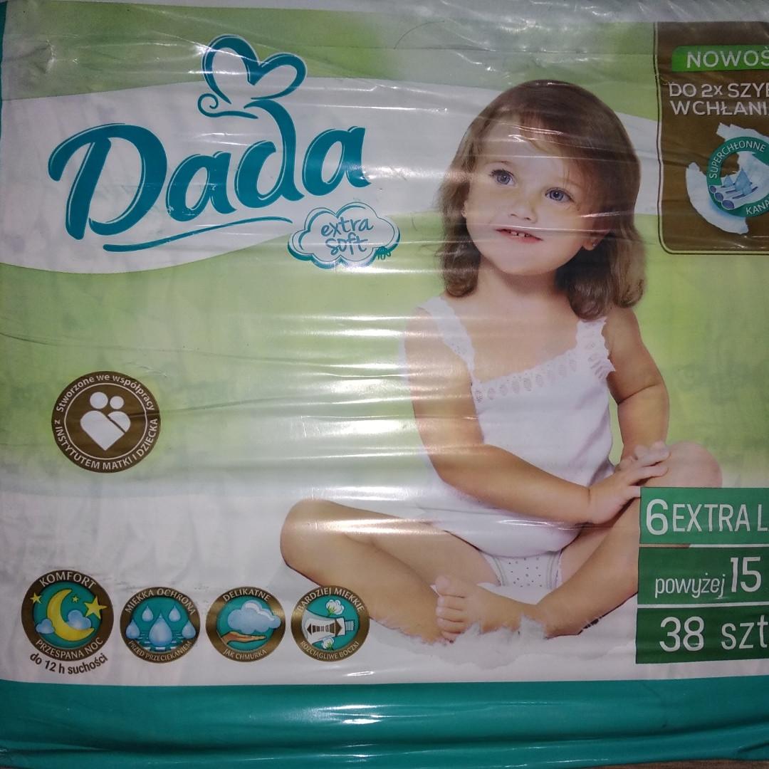 Підгузники Dada 6 Extra Large 15 кг. 38 шт.