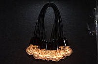 Гирлянда из лампочек, комплект 20 метров на 41 лампочку