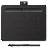 Графический планшет Wacom Intuos S Bluetooth black (CTL-4100WLK-N), фото 1