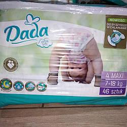 Підгузники Dada 4 Maxi (7-18кг) 46 шт.
