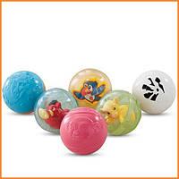 """Развивающие Сенсорные шарики Fisher Price """"Удивительные животные"""" Disney Baby"""