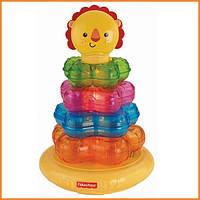 """Развивающие игрушки Fisher Price музыкальная пирамидка """"Маленький львенок"""""""