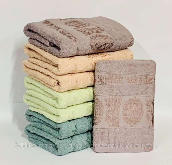 Полотенце махровое для бани   №109837