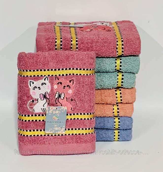 Полотенце махровое для бани   №109834