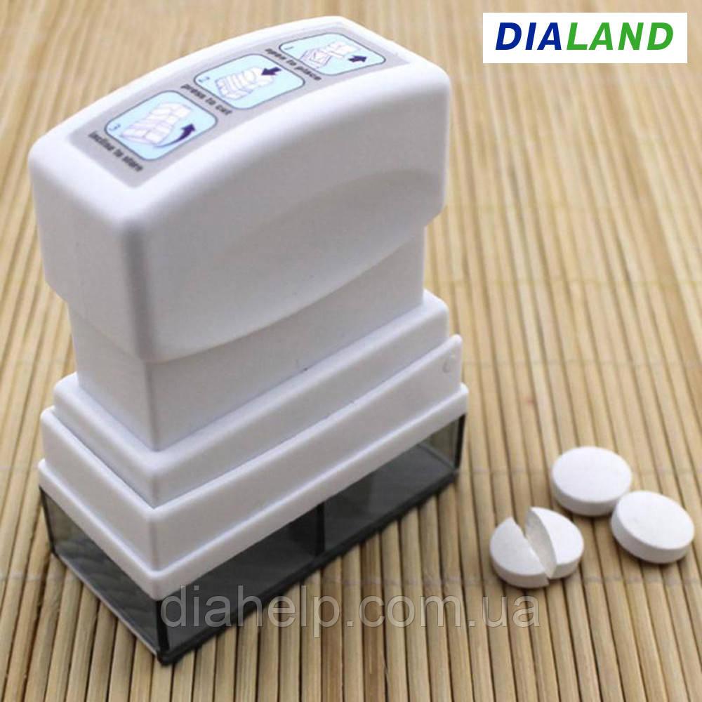 """Разделитель Pill Box (устройство для деления таблеток на части) """"штамп"""""""