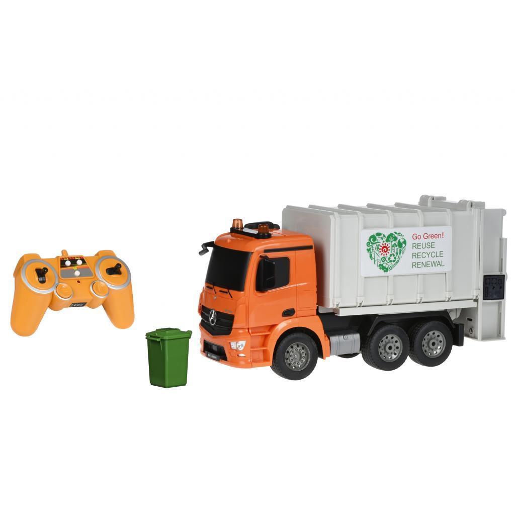 Радиоуправляемая игрушка Same Toy Мусоровоз Mercedes-Benz 1:20 (E560-003)