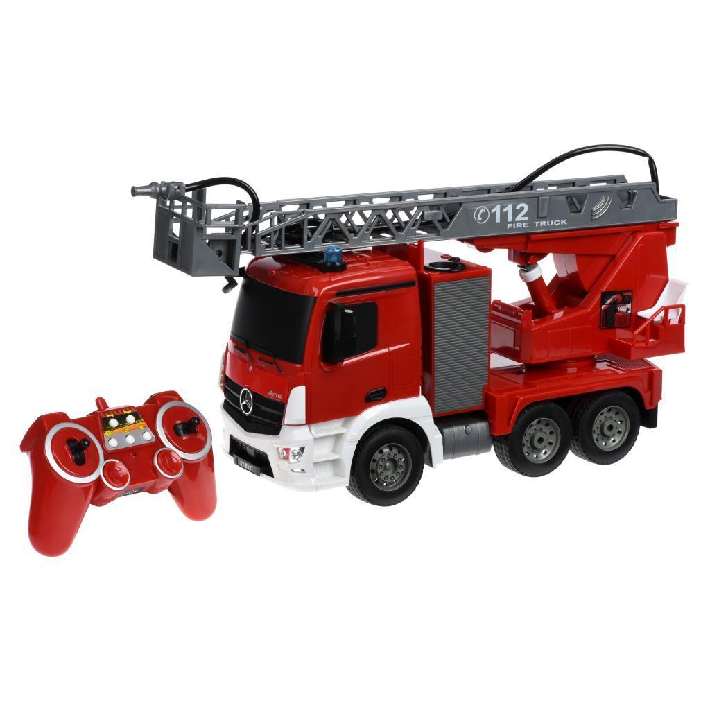 Автомобиль Same Toy Пожарная машина Mercedes-Benz с лесницей 1:20 (E527-003)