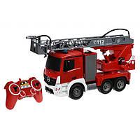 Автомобиль Same Toy Пожарная машина Mercedes-Benz с лесницей 1:20 (E527-003), фото 1