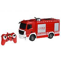 Радиоуправляемая игрушка Same Toy Пожарная машина с распыльтелем воды (E572-003)