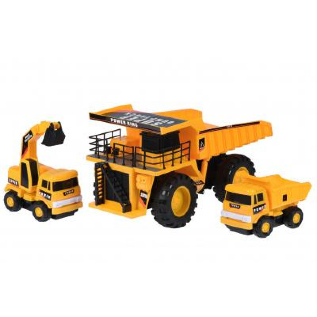 Спецтехника Same Toy Builder Карьерная техника (R1807Ut)