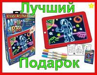 Планшет для детского творчества, рисования 3D Magic Pad