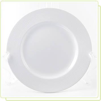 "Тарілка Maestro MR-10001-01 17см""White Linen"""