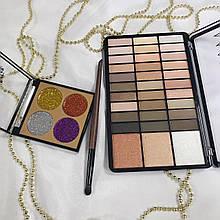 Набор косметики для макияжа глаз в красивой упаковке