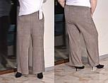 Ангоровые женские брюки клеш в больших размерах vN6121, фото 2
