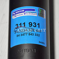Амортизатор (задний, Sachs 311 931 Turk) Fiat(Фиат) Doblo(Добло) (119/223) 2001-2010(01-10)