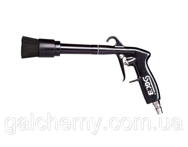Пневмопістолет для хімчистки з щіткою без бачка для хімії Air Gun SGGC032, SGCB